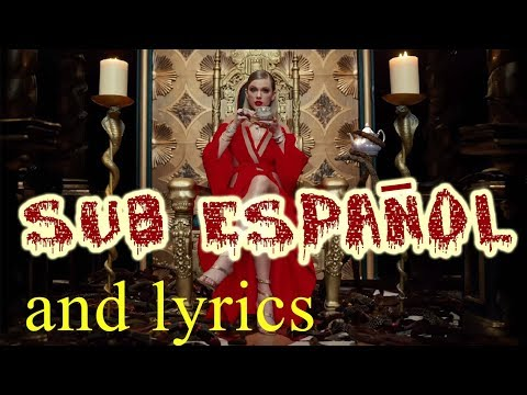 Taylor Swift - Look What You Made Me Do with Lyrics | Subtitulada en Español | Official Video