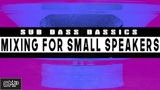 Studio One 3.5 How to Mix Bass For Small Speakers