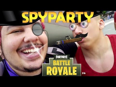 Greek And Tyler Play SpyParty, Fortnite And Makes Animal Noises