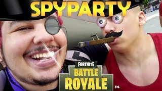 Finally convincing Tyler to play Fortnite + Spy Party