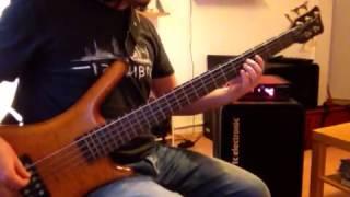 Línea de bajo (Bass cover) - Los Peces Del Viento - Santa Sabina