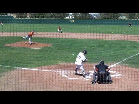 Bryan Benz Greatest Baseball Hits at Ranger College 2015/16