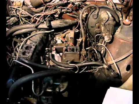 Deans carb swap on 1986 AMC Eagle - YouTube