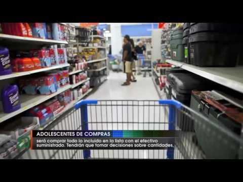 Adolescentes de compras