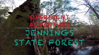 Overnight Adventure || Jennings State Forest