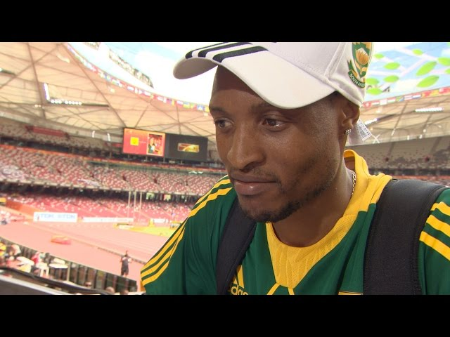 WCH 2015 Beijing - Godfrey Khotso Mokoena RSA Long Jump Qualification