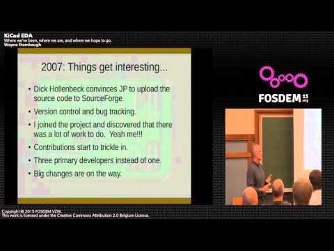 FOSDEM 2015 - Developer Room - Electronic Design Automation - Kicad