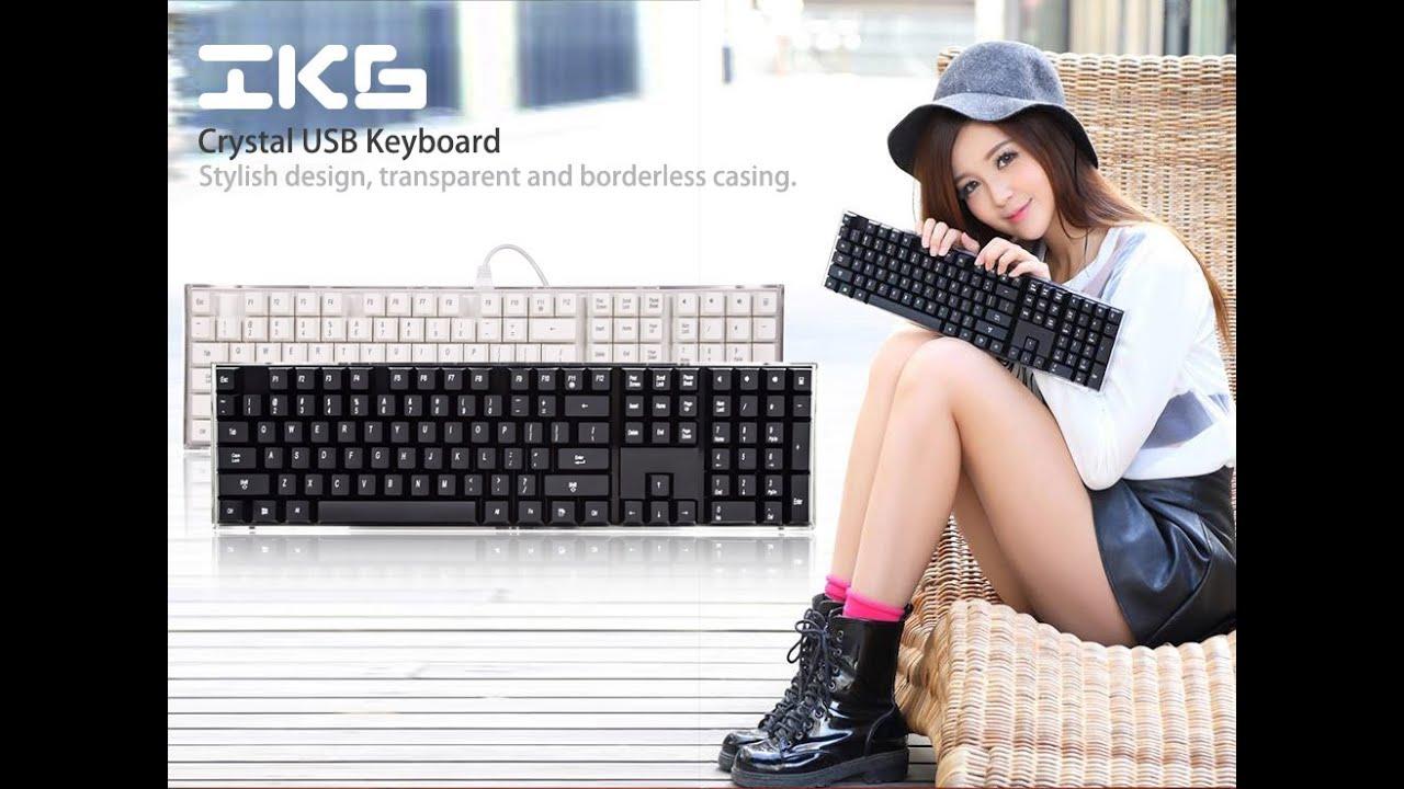 Âm thanh bàn phím giả cơ i-rocks IK6