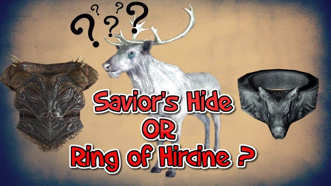 Hircine S Ring Not Working