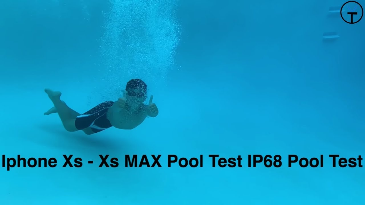 best cheap 1f669 b6e4e 2018 Apple Iphone Xs And Xs MAX Underwater Waterproof Pool Testing The IP68  Water Resistance
