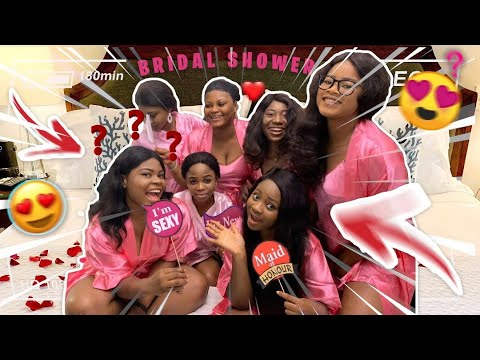 Download WHAT AN AVERAGE BRIDAL SHOWER IN NIGERIA LOOKS LIKE   NIGERIAN BRIDAL SHOWER
