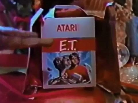 Atari E T Game Christmas Commercial HD
