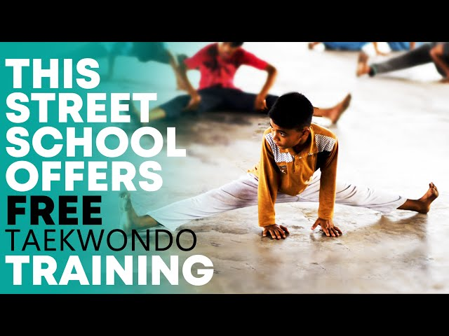 This Street School Offers Free Taekwondo Training