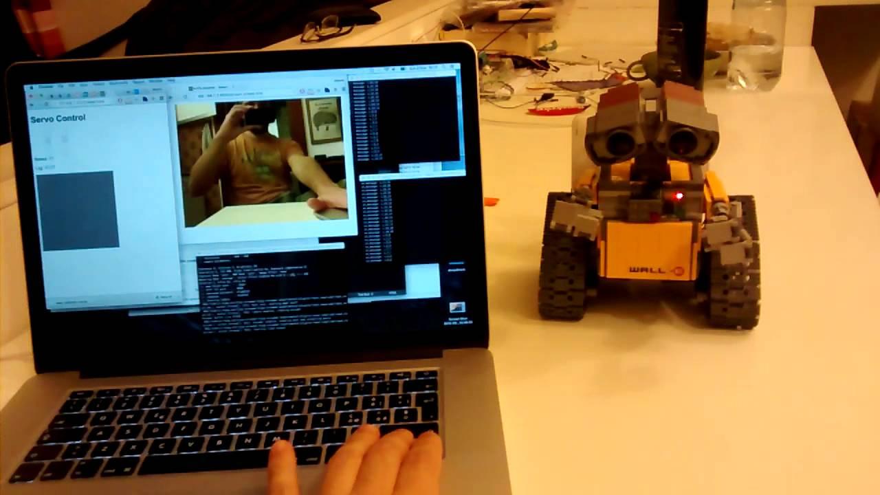 WALL-E + Raspberry Pi, first prototype