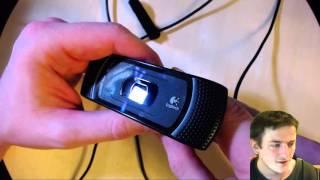 вебкамера Logitech B910, C910 HD Pro ОБЗОР  Компьютерщик