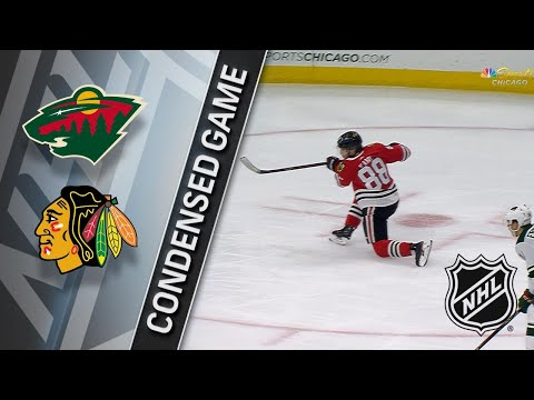 12/17/17 Condensed Game: Wild @ Blackhawks
