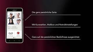 Produktvideo zu Emporia SMART.2 Smartphone für Hörgeschädigte Dunkelblau