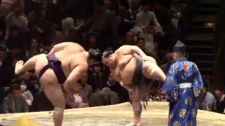 2016.1.16 東京 両国国技館 http://www.sumo.or.jp/ 豊ノ島(5勝2敗)寄...