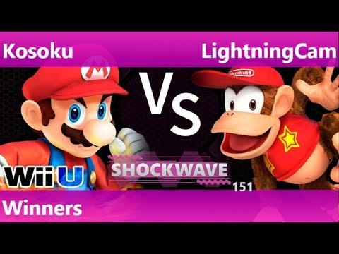SW 151 - Kosoku (Mario) vs LightningCam (Diddy) Winners - Smash 4