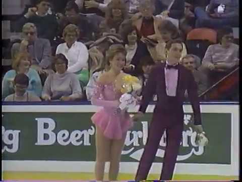 Susan Wynne & Joseph Druar USA - 1987 World Championships OSP