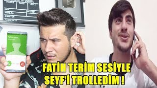 QUARESMA SEYF 'İ FATİH TERİM SESİYLE TROLLEDİM !