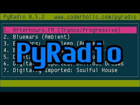 PyRadio, Command-line Internet Radio Player