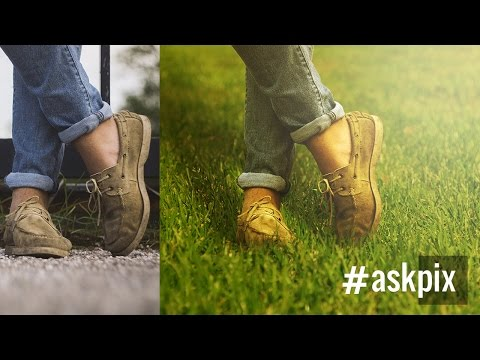 The Right Way to Place Objects on Grass for Photo Manipulati