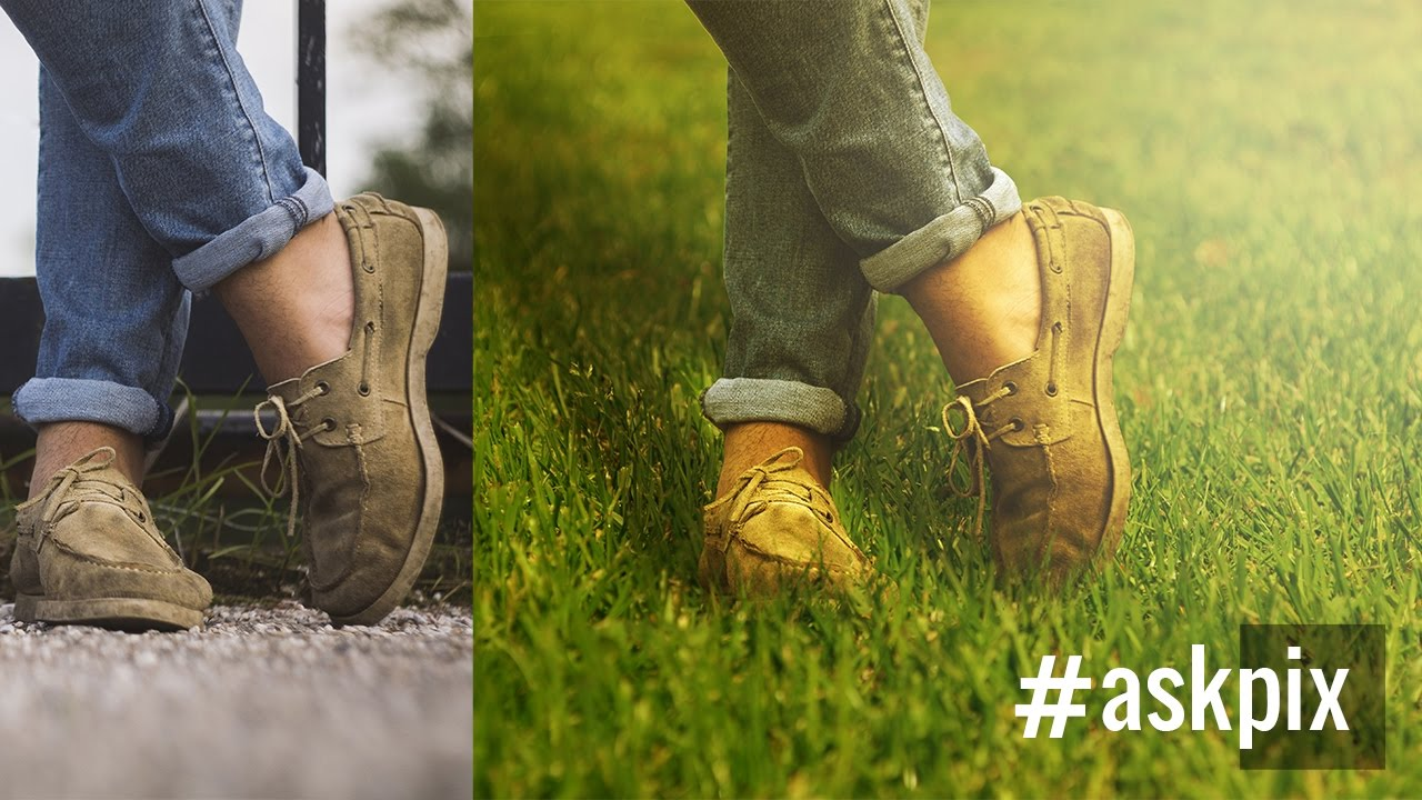 The Right Way to Place Objects on Grass for Photo Manipulation in Photoshop #AskPiX