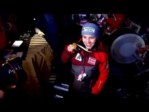 Ski-WM St. Moritz 2017: Schmidhofer feierte Gold beim Seefeld-Empfang im TirolBerg - VIDEO