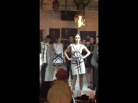 XV Belgrade Art Show. Anica Jovanović Fashion. Collection 'BE WILD'