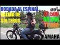 Rodada al Espinal & Salida de Solteros. Yamaha XT500. ~Pasión Quinienera~
