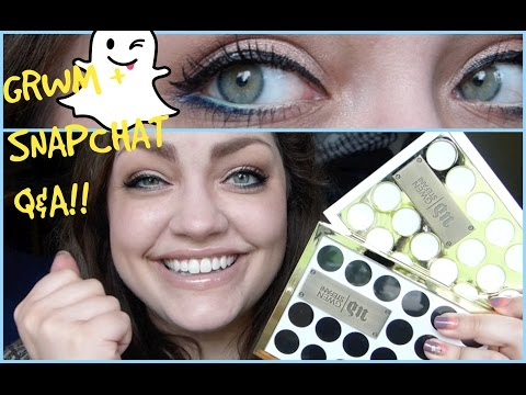 GRWM: UDxGwen Stefani Palettes + Snapchat Q&A #3!!