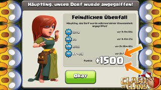 +1500 POKALE! WOW! 😱 Clash of Clans 😱 CoC