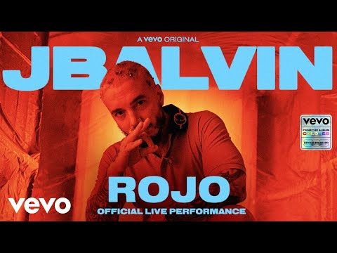 J Balvin – Rojo (Official Live Performance) | Vevo