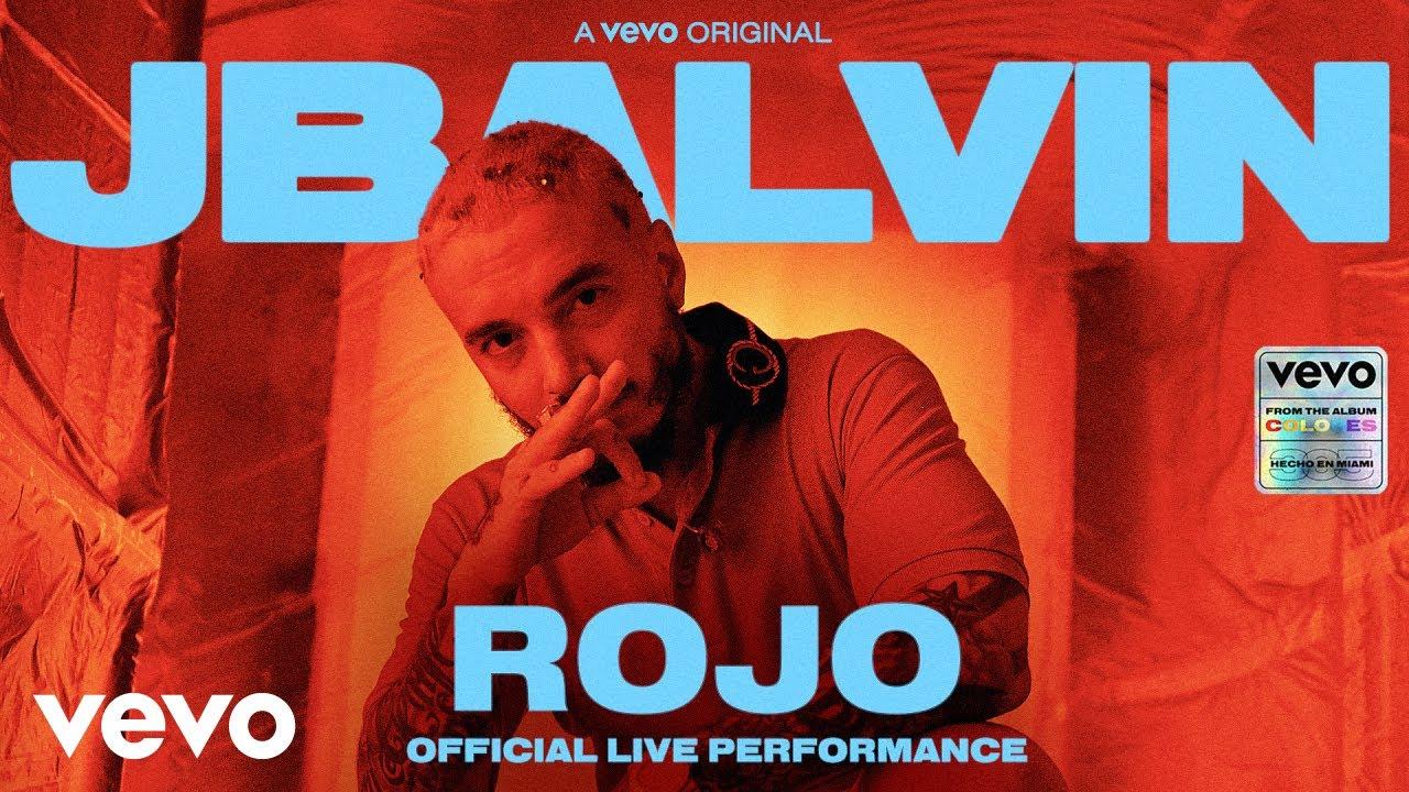 J Balvin - Rojo (Official Live Performance)   Vevo