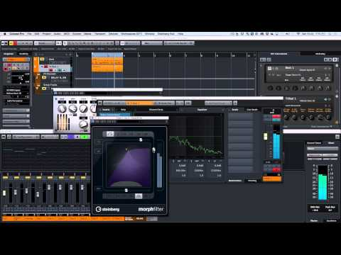 Cubase Pro 8 - Percussive House Music Composition Session
