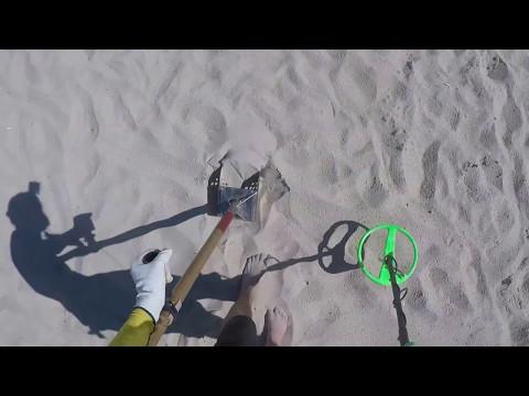 TESTE DETECTOR CASEIRO SURF PI NA PRAIA