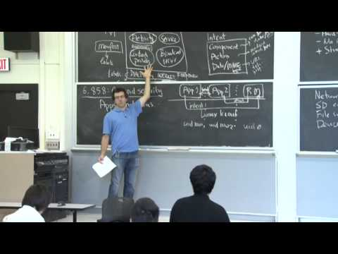 6.858 Fall 2014 Lecture 20: Mobile phone security