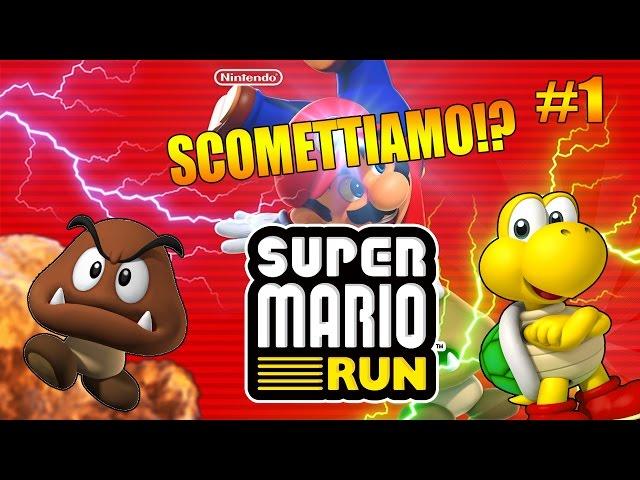 Super Mario Run ITA!! SCOMMETTIAMO!! #1