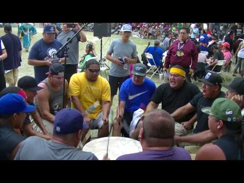 Meskwaki Nation - Over All Singing Contest Song 1 Finals in Mandaree July 2017