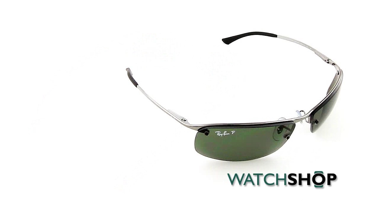 rb3183 qcpo  Ray-Ban Men's RB3183 Sunglasses RB3183-004/9A-63