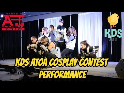 [KDS] ATOA 2018 Cosplay Contest Performance (Monster, Firetruck, Hard Carry, FIRE)