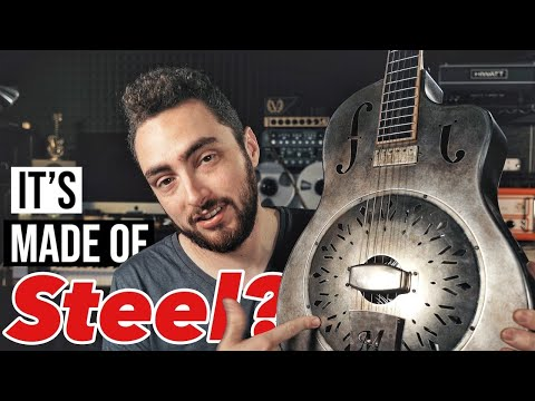 This Guitar Is Made Of STEEL (and it sounds AMAZING)