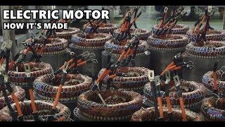 Electric Motor Manufacturing at Renault Cleon Plant