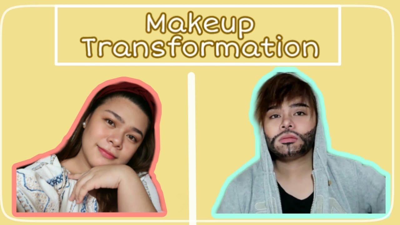 Halloween Transformation (Woman To Man) - YouTube
