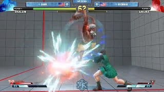 Frosty Faustings Top 24 Arturo Sanchez takes his Dhalsim up against...