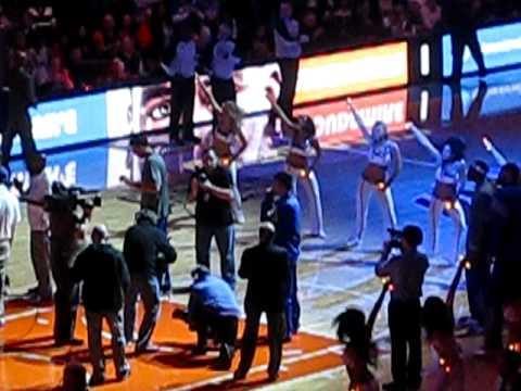 NY Knicks vs. NO Hornets - Knicks Intros 2/17/12