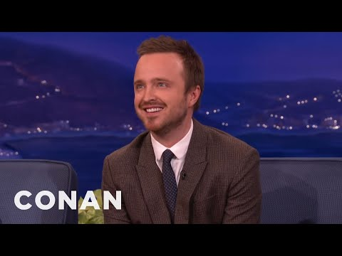 Aaron Paul Regrets Serving Champagne To Fans