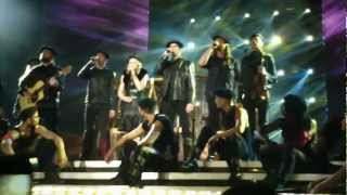 Madonna - MASTERPIECE LIVE - mdna tour in Tel-Aviv