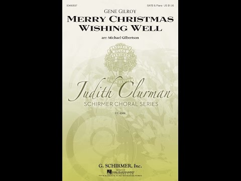 Merry Christmas Wishing Well - Arranged by Michael Gilbertson